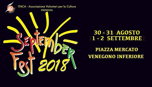 Septemberfest (30 agosto - 2 settembre 2018, Venegono Inferiore)