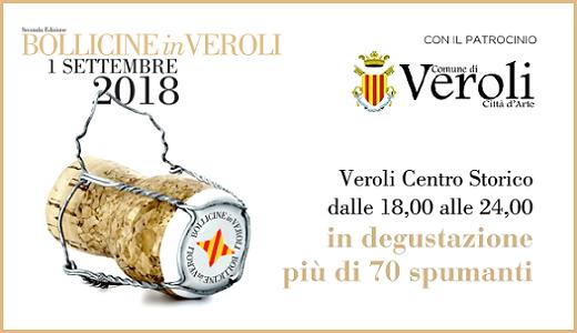 Bollicine in Veroli (1° settembre 2018)
