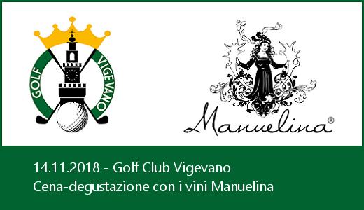 Cena-degustazione al Golf Club Vigevano