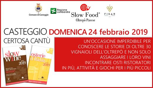 Presentazione delle guide di Slow Food (24/02/2019)