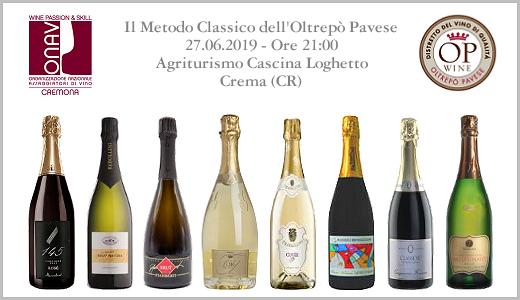 Degustazione Metodo Classico OP (Crema, 27/06/2019)