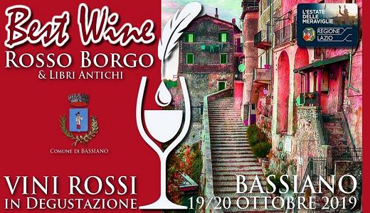 Best Wine Rosso borgo & libri antichi (Bassiano, 19-20/10/2019)